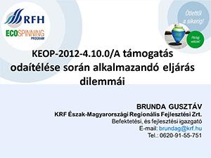 RFH Ecospinning Program