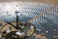 Egy korábbi terv szaharai napenergiára: így nézett volna ki a Desertec egyik naperőműve Forrás: Desertec