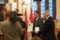a díjat Borhi Zsombor, Kaposvár alpolgármestere vette át